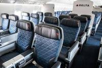 ニュース画像:デルタ、ボストン、ニューヨーク、ロサンゼルス発着路線に改修機材を投入