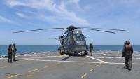 ニュース画像:アルゼンチン海軍のS-61、砕氷艦と共に南極へ