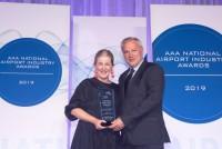 ニュース画像:ブリスベン空港、オーストラリアの空港アワードで2つの賞を受賞