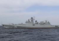 ニュース画像:ロシア海軍、黒海艦隊のフリゲートとKa-27PLが対潜訓練を実施