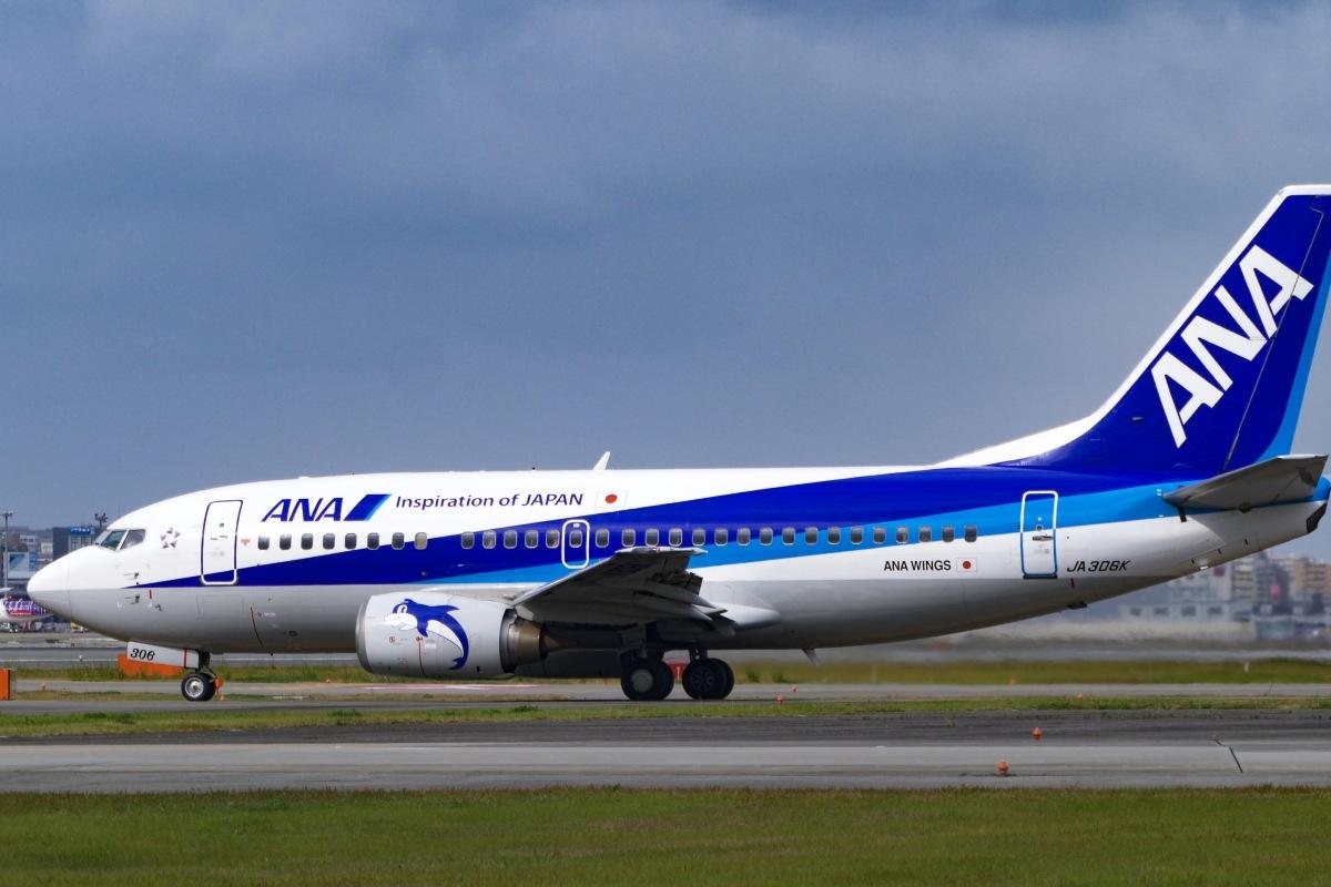 ニュース画像 1枚目:ANA 737-500「スーパードルフィン」JA306K