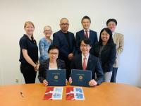 ニュース画像:JAL、カリフォルニア大学ロサンゼルス校と連携協定の覚書を締結