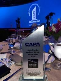 ニュース画像:ブリスベン空港、CAPAアワード中規模空港部門で最優秀賞