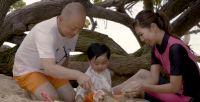 ニュース画像:息子を「デルタ」と名付けた日本人夫婦