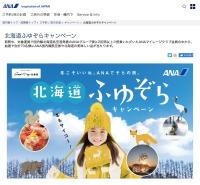 ニュース画像:ANA、北海道路線で搭乗キャンペーン 往復航空券や名産品など当たる