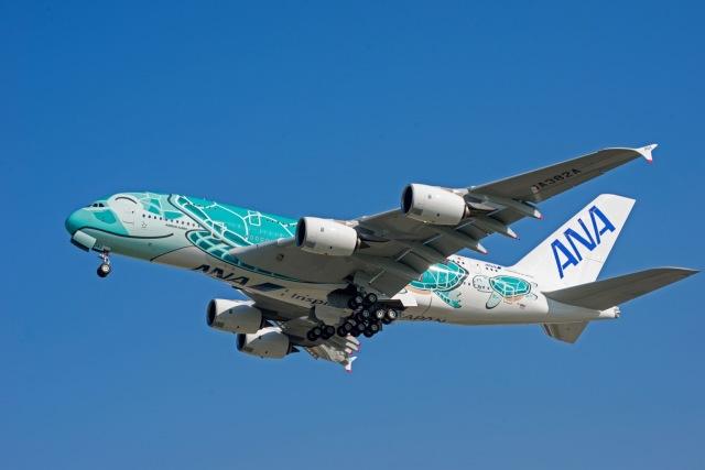 ニュース画像 1枚目:海をイメージしたエメラルドグリーンのA380
