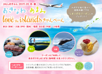 ニュース画像:JAL、冬の沖縄・奄美ツアー申し込みでクーポン配布 2月29日まで