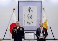 ニュース画像:アジア航測、陸上自衛隊から感謝状 任務の効率化や災害時の協力で