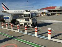ニュース画像:トゥールーズ空港、荷物仕分区域から航空機間の荷物輸送に自律トラクター