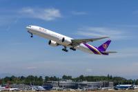 ニュース画像:ボーイング、タイ国際航空の自社購入25機目の777を引き渡し