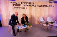 ニュース画像:エールフランスとソーラー・インパルス財団、航空のエコ転換を促進