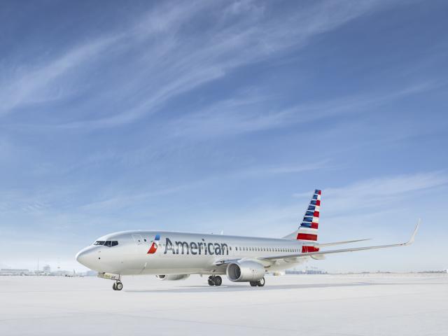 ニュース画像 1枚目:アメリカン航空 737