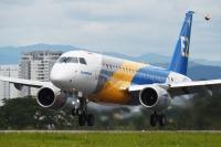 ニュース画像:エンブラエル、E175-E2が初飛行 E2ファミリー開発は最終段階