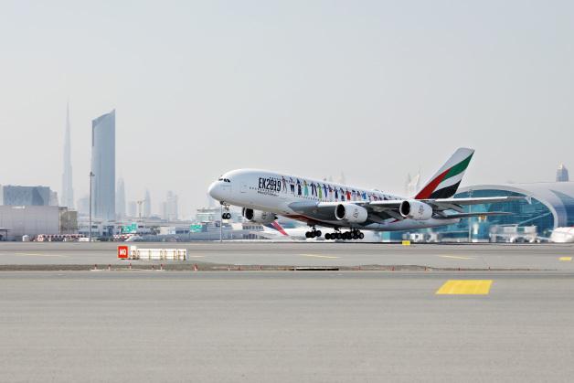 ニュース画像 1枚目:A380特別便EK2019便