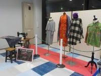 ニュース画像:米子空港チャレンジショップ、地元服飾学校の作品展示 12月23日まで