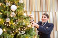 ニュース画像:ブリティッシュ・エア、機内食やエンターテイメントでクリスマスムードに