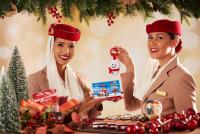 ニュース画像:エミレーツ航空、クリスマスに特別な機内食やサービスを提供