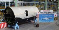ニュース画像:川崎重工、1000号機目の787前部胴体を完成 出荷式を開催
