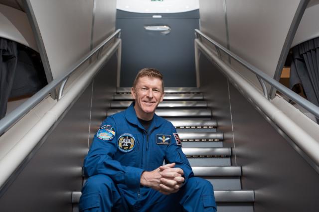 ニュース画像 1枚目:イギリスの宇宙飛行士ティム・ピークさん