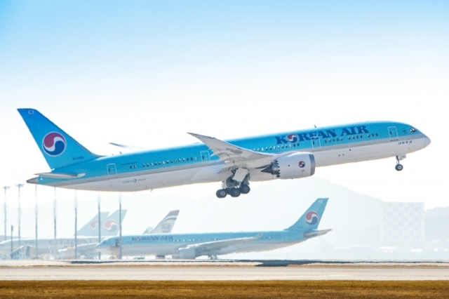 ニュース画像 1枚目:大韓航空 787