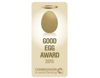 ニュース画像:KLM、家畜のよりよい生活への貢献で「グッド・エッグ・アワード」受賞