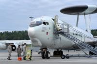 ニュース画像:アラスカの統合演習、アップグレードされたE-3G AWACSが参加