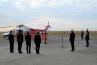ニュース画像:西日本空輸、山口県消防防災ヘリコプター「きらら」の受託運航を開始