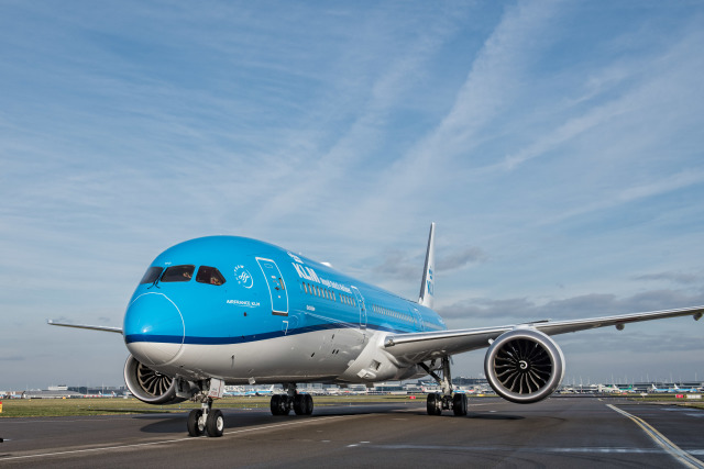 ニュース画像 1枚目:KLMオランダ航空 787-9