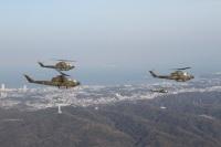 ニュース画像 2枚目:平成31年、航空隊年始編隊飛行訓練