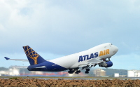 ニュース画像:アトラス航空、747-8Fを11月に受領 保有・運航機材をアップデート