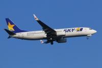 ニュース画像:スカイマーク、年末年始の予約率 国内線83.0% 国際線57.0%