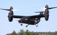ニュース画像:アグスタウェストランドAW609が展示飛行 ヨービルトン・エア・デイ