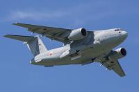 ニュース画像:空自C-2輸送機、青島文化教材社が1/144サイズを1月発売