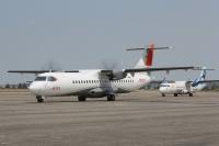 ニュース画像:佐渡新航空路促進協、空路再開に向け勉強会 新型ATR機の活用も視野に