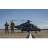 ニュース画像 2枚目:デュークフィールドに着陸したグレイウルフ