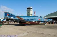 ニュース画像:百里基地司令、ファントムの最後を見届け F-2を新たに迎え入れ