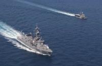 ニュース画像:護衛艦「さざなみ」、タイ海軍と親善訓練