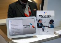 ニュース画像:アメリカン、ラウンジでGoogleアシスタント翻訳機能を導入