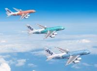 ニュース画像:ANA、A380サンセットオレンジを4月受領 ホノルル線は1日2往復