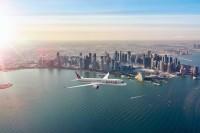 ニュース画像:カタール、クウェートの航空ショーでA350とG500を展示