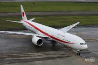 ニュース画像:政府専用機、首相の中東3カ国訪問で要人輸送 1月11日から15日