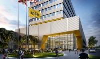 ニュース画像:スピリット航空、ハリウッド国際空港近くに建設する新本社ビルで起工式