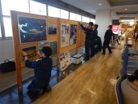 ニュース画像:釧路空港で釧路航空基地主催のパネル展 118番の日にあわせ
