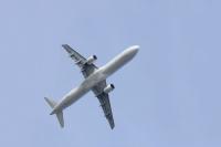 ニュース画像:羽田新ルート、都心通過の試験運用はじまる 「機体大きいが静か」