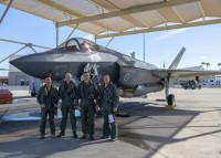 ニュース画像:オーストラリア空軍、F-35Aが訓練を終了 ルーク基地を出発