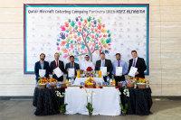 ニュース画像:カタール航空、フードバンクと提携 ケータリングで余った飲食物を寄付