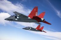 ニュース画像:サーブ、アメリカ空軍向けT-7Aレッドホークの胴体後部を生産開始