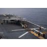ニュース画像 3枚目:F-35BライトニングIIのアメリカ甲板での様子