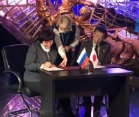 ニュース画像:空宙博、モスクワ市立宇宙飛行士記念博物館と連携協力で覚書を締結