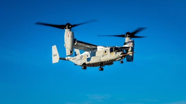 ニュース画像 1枚目:アメリカ海軍向けCMV-22B